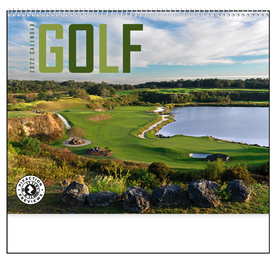 Golf Calendar Card 2021 | Calendar Page throughout 2022 Calender For Trying To Conceive