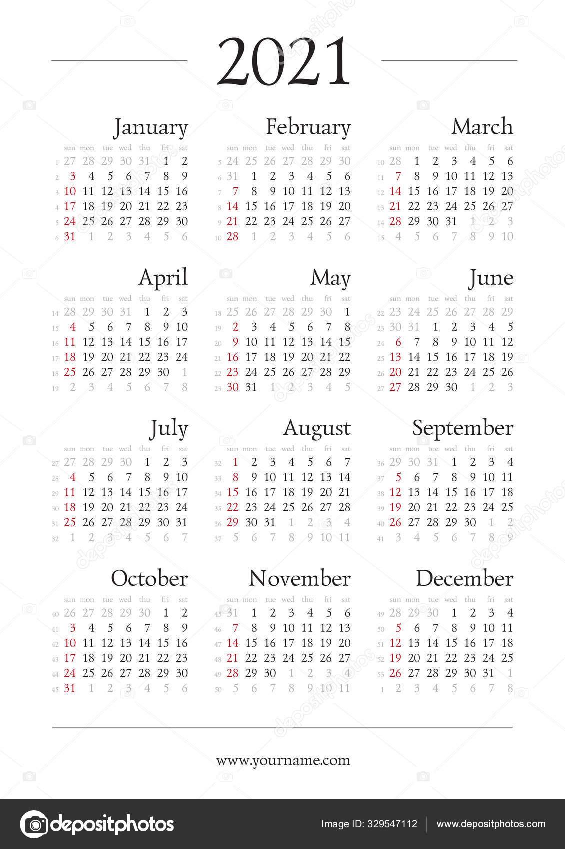 Gregorian Calendar 2021 With Week Numbers | Free Printable throughout Julian Date Calendar For 2022