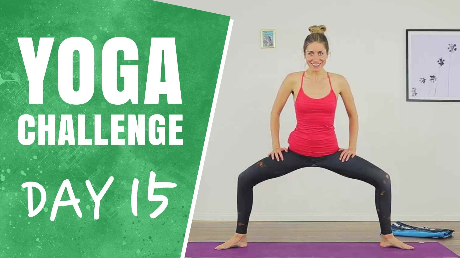 Hamstrings And Inner Thighs - Day 15 - The 30 Days Of Yoga inside 30 Day Inner Thigh Challenge