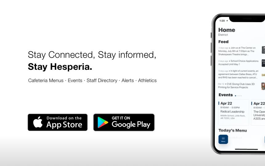 Hesperia Unified School District | Preparing Today'S in Hesperia School District Calendar 2022
