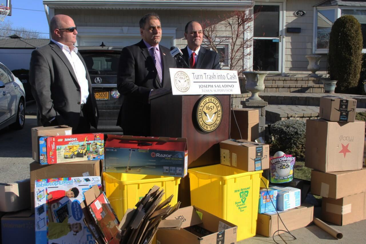 Holiday Season Recycling   Hicksville News with regard to Town Of Oyster Bay Sanitation Calendar 2022