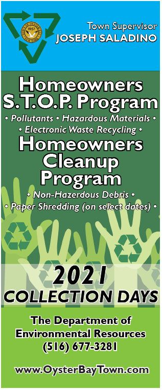 Homeowners Recycling Programs - Town Of Oyster Bay pertaining to Oyster Bay Sanitation Department