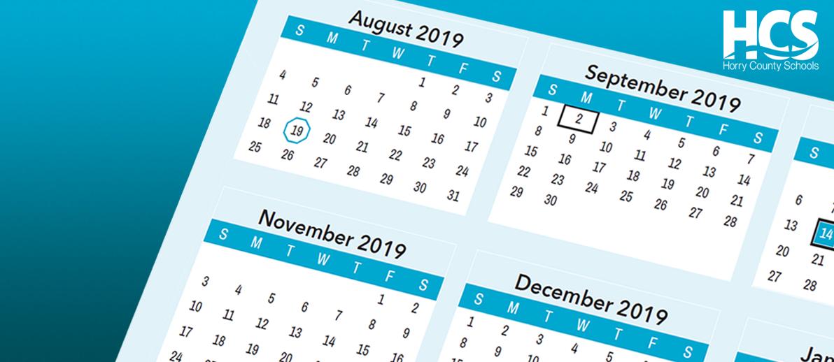Horry County Schools Calendar 2021 2022 | Calendar 2021 regarding 2022 Monterey County Schedule