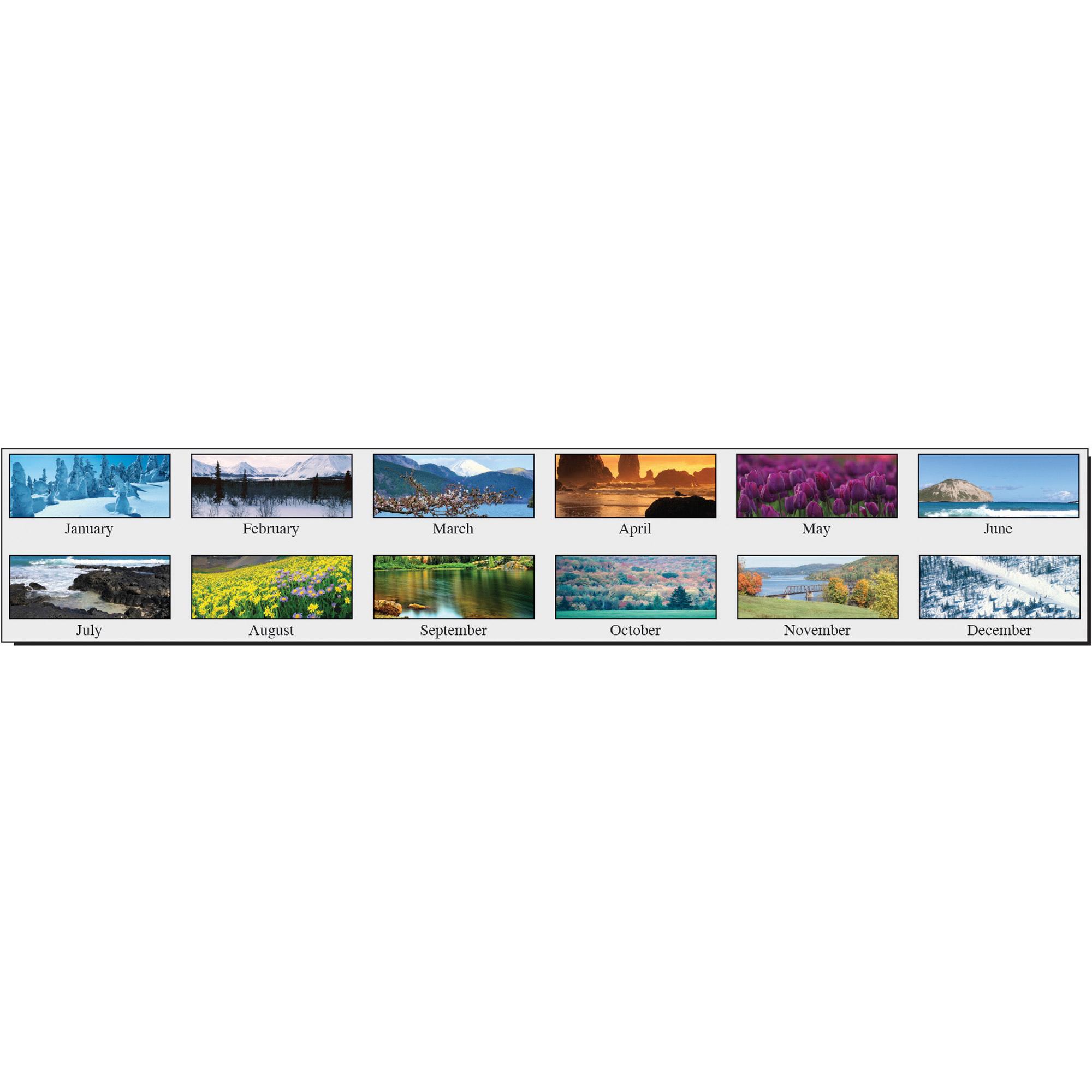 House Of Doolittle Scenic 3-Month Wall Calendar | Walker'S throughout January 2022 Calendar With Julian Dates