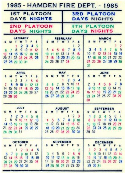 Houston Fire 2021 Shift Calendar   Printable Calendar 2020 intended for 2022 Hfd Shift Calendar