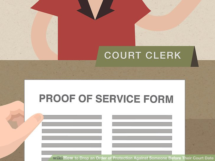 How To Drop An Order Of Protection Against Someone Before inside Nc Defendant Court Date