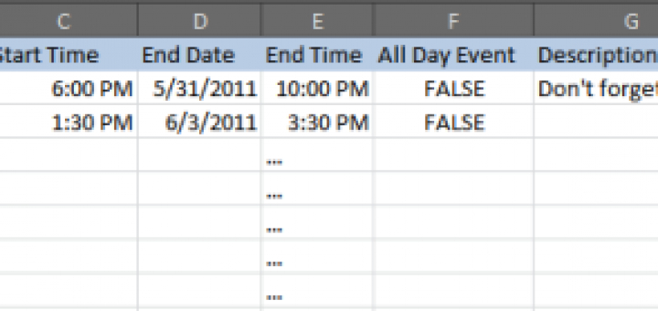 How To Import A Csv File To Google Calendar with regard to How To Convert Excel Spreadsheet To Calendar