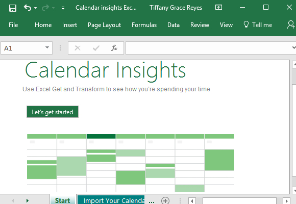 How To Import Calendar In Excel From Exchange Server within How To Convert Excel Spreadsheet To Calendar