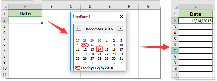 How To Pop Up A Calendar When Clicking A Specific Cell In pertaining to Turn Excel Spreadsheet Into Calendar