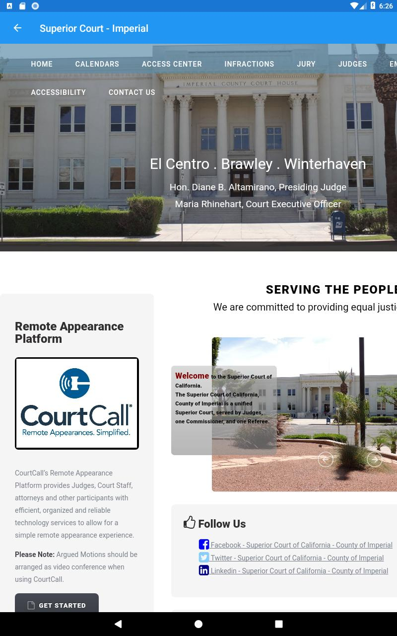 Impeiral County Superior Court Calendar | Printable intended for Superior And District Court Calendars