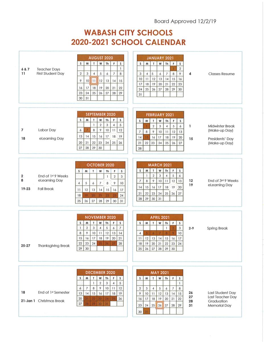 Indiana Weselyn Online Studies Calendar   Printable pertaining to Elementary School San Digeo Holiday Calendar 2022