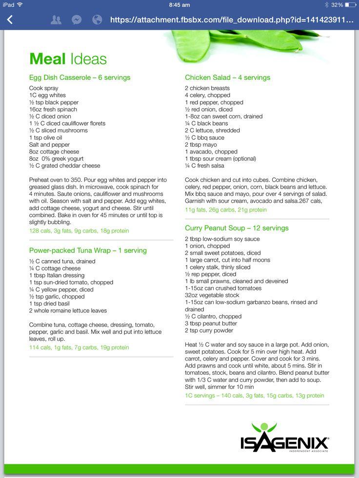 Isagenix Meal Ideas   Isagenix Snacks, Isagenix Meal Plan regarding Isagenix Shake Day Schedule Pdf 2022