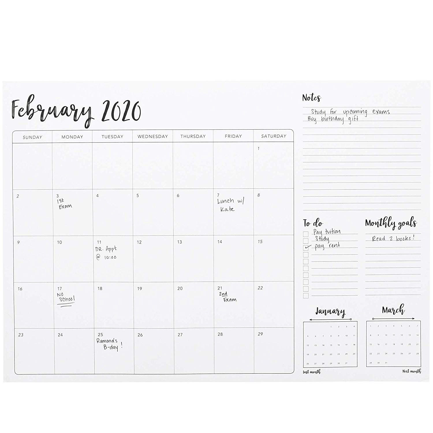January 2021 June 2022 17 X 12 Monthly Desk Or Wall within Julian Date For 2022