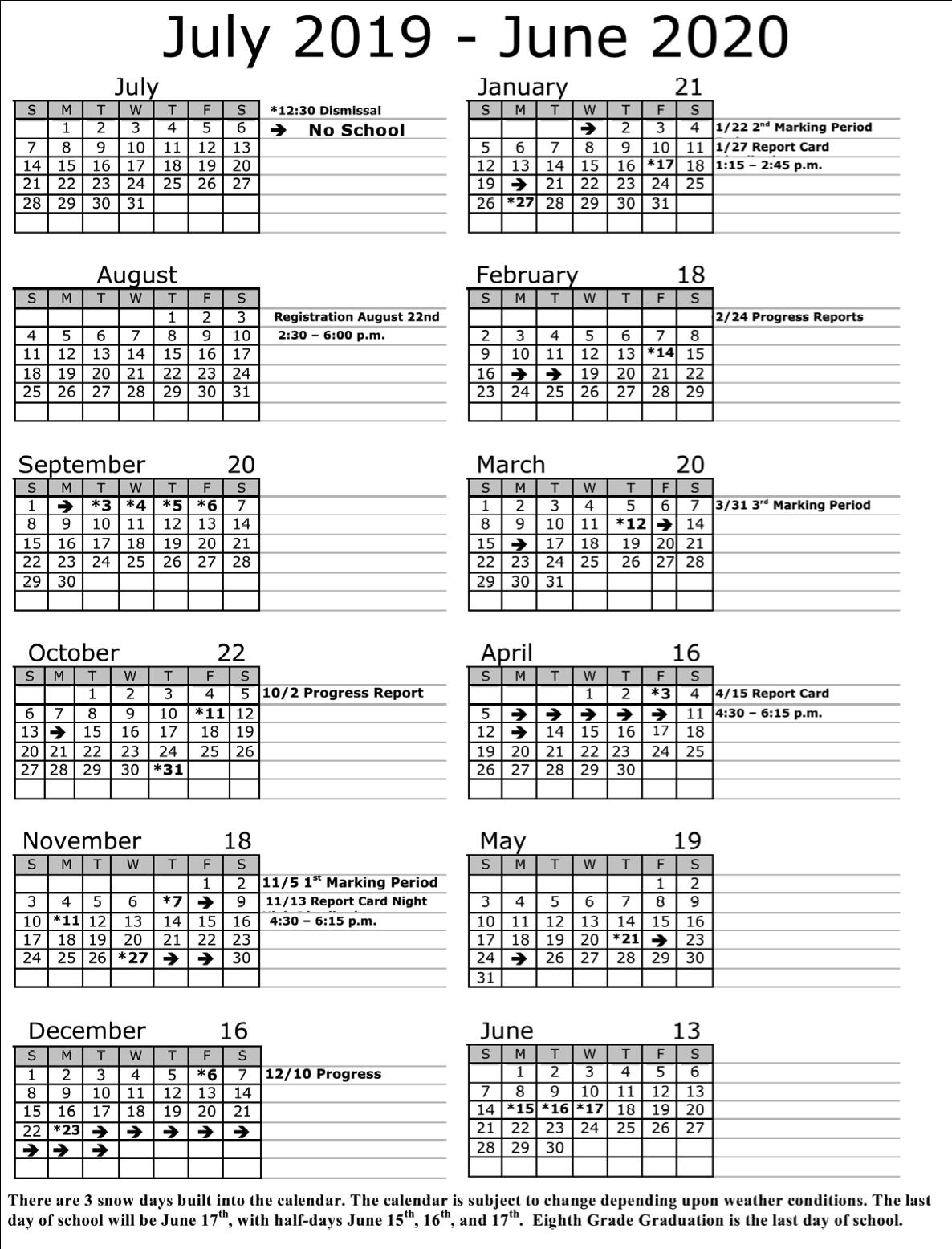 Jersey City Board Of Education Member Calendar   Printable Calendar 2020-2021 intended for Calendar Department Of Education