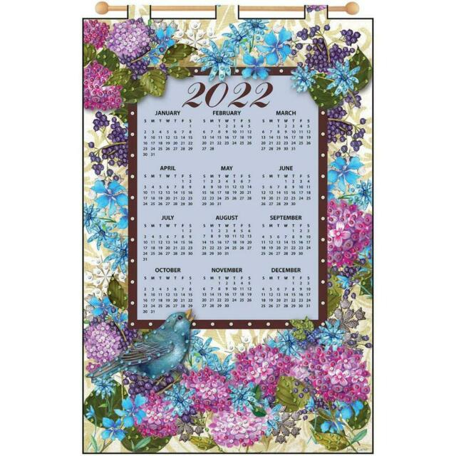 Jeweled Banner Kit Design Works 2022 Blue Bird Calendar # with regard to Retail 4 5 4 Calendar 2022