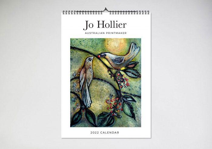 Jo Hollier 2022 Wall Calendar - Blue Island Press within Retail Calendar 2022 4-5-4 Explained