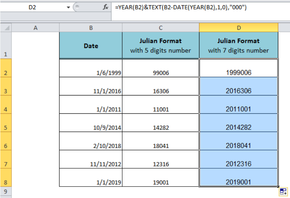 Julian Date Calculation Excel - Superhqclub for How To Convert Excel Spreadsheet To Calendar