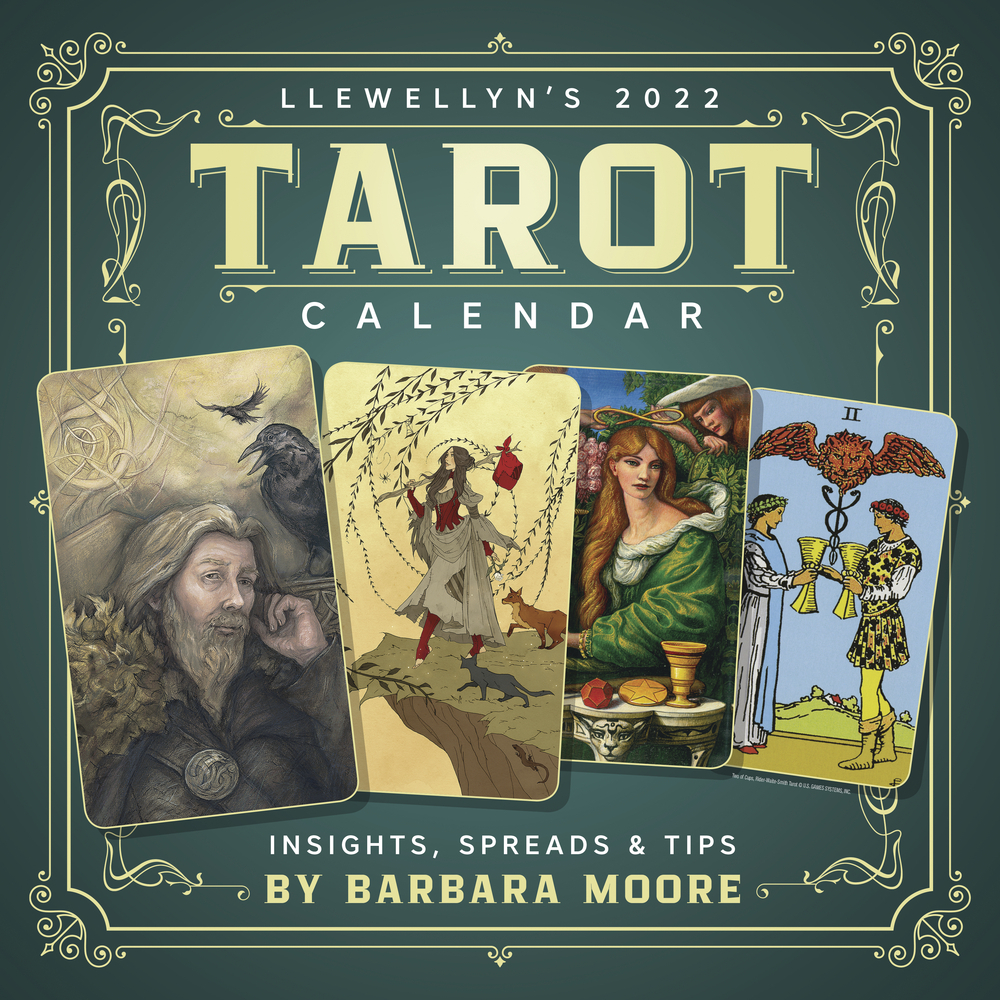 Llewellyn'S 2022 Tarot Calendar in U Of Mn Calendar 2022