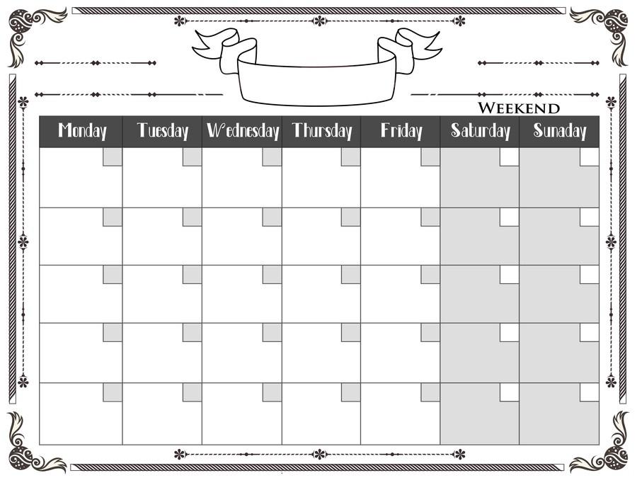 Make A Monthly Calendar - Calendar Template 2021 throughout Nc District And Superior Court Query Calendar