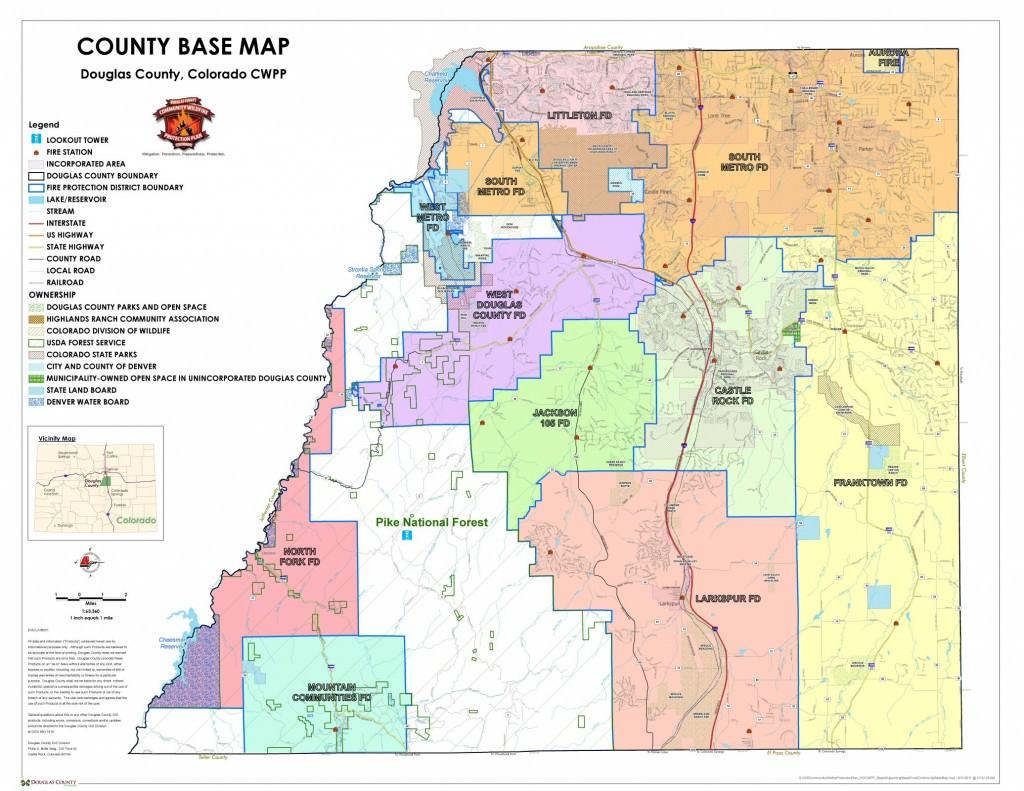 Maps - Douglas County Government regarding District 20 Colorado Springs