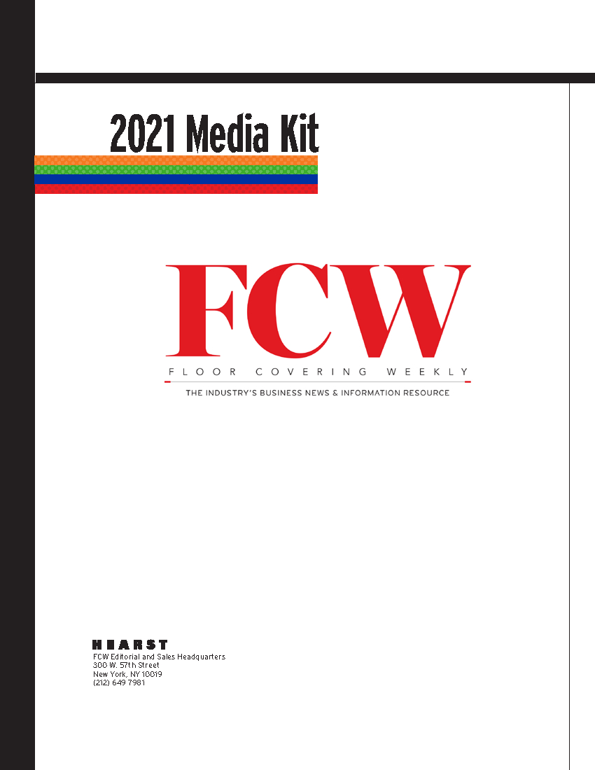 Media Kit | Floor Covering Weekly for Orange County Convention Center Schedule 2022