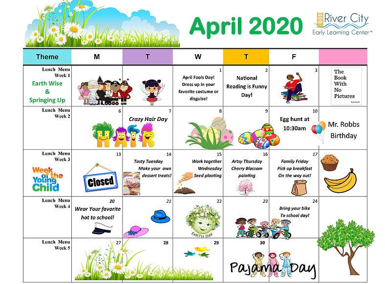 Menu & Events   Rivercityelc in Elk River School District Calendar 2022 2023