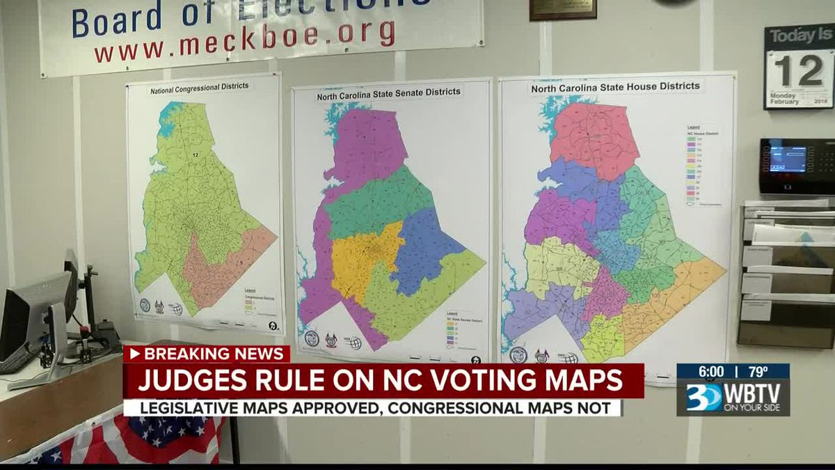 Nc Judges Approve Legislative Maps, Rule Against throughout Nc District And Superior Court Calendars