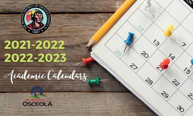 Osceola County Schools Archives - Positively Osceola throughout Lake 0Rion 2022 2023 School Calendar