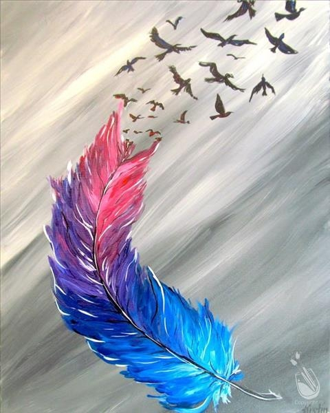 Paint And Sip: Breaking Free 02/02/2020 Missoula regarding Painting With A Twist Calnder
