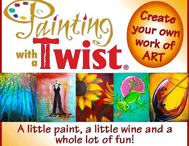 Paint, Drink And Be Merry! | Date Night Cincinnati regarding Painting With A Twist Calnder