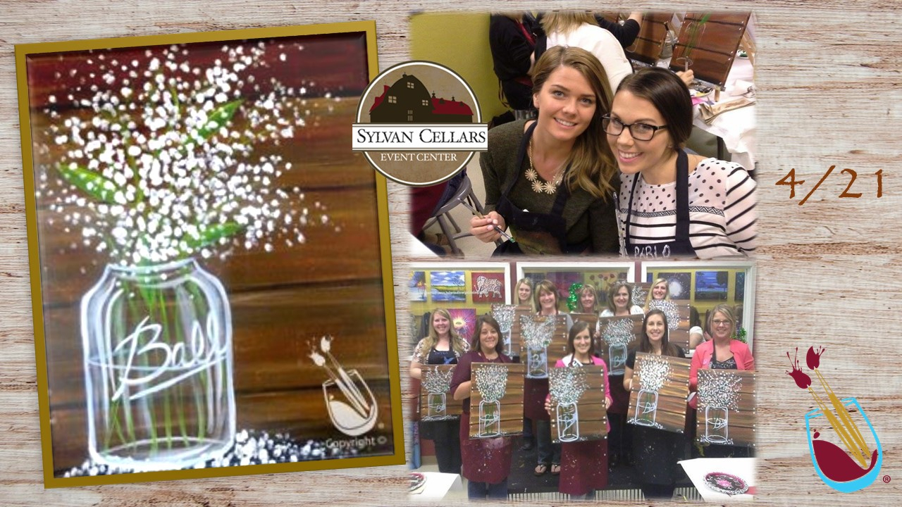 Painting With A Twist April 21St | Sylvan Cellars Event Center for Painting With A Twist Calnder