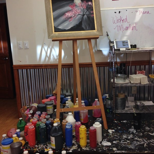 Painting With A Twist (Now Closed) - 2 Tips throughout Painting With A Twist Calnder