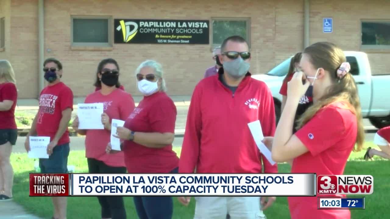 Papillion La Vista Community Schools To Open At 100% intended for Papillion School District Calendar