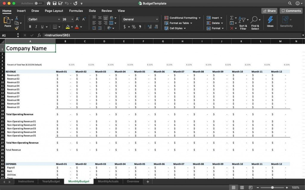 Personal Finance Tracker Excel Template ~ Addictionary for Export Excel Worksheet Into A Calendar