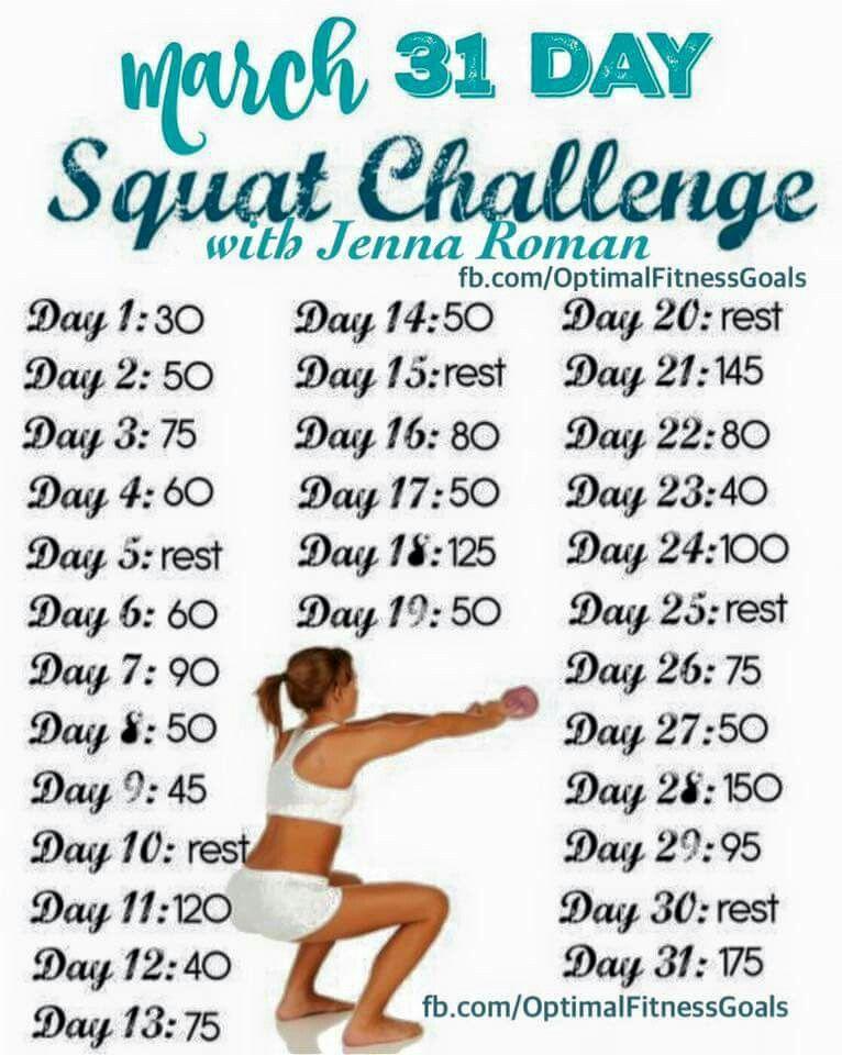 Pinveronica Morales On Get Fit | Squats, Squat regarding 30 Day Squat Challenge Calendar