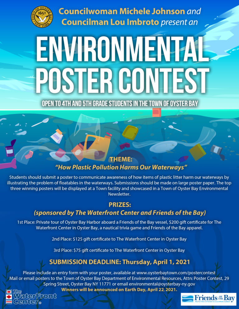 Poster Contest - Town Of Oyster Bay in Town Of Oysterbay Town Callendar
