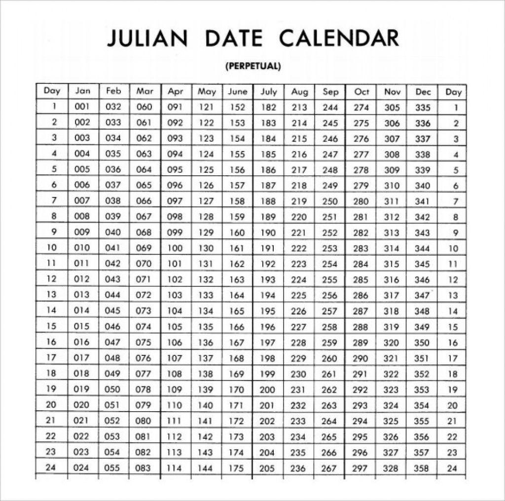 Printable Julian Calendar 2022 | Free Printable Calendar inside Julian Day Calendar 2022