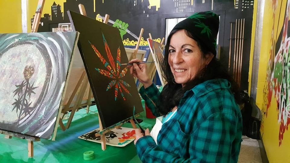 'Puff, Puff, Paint' Is Like 'Painting With A Twist,' But pertaining to Painting With A Twist Calnder