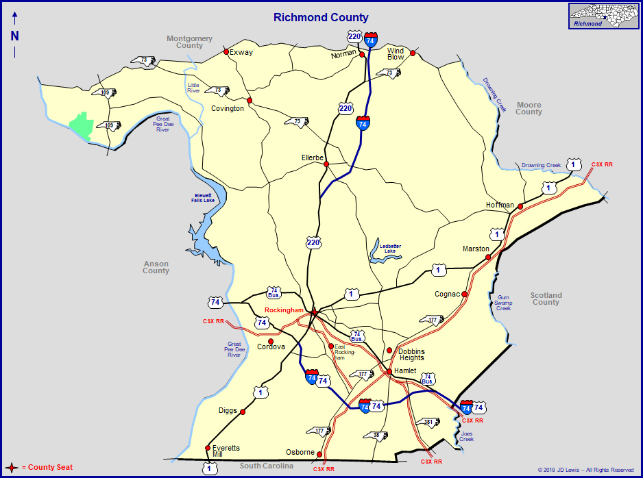 Richmond County, North Carolina regarding Nc Court Dates By Name