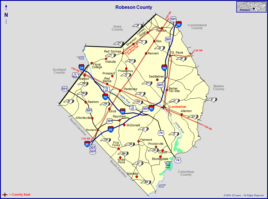 Robeson County, North Carolina with Nc Court Dates By Name