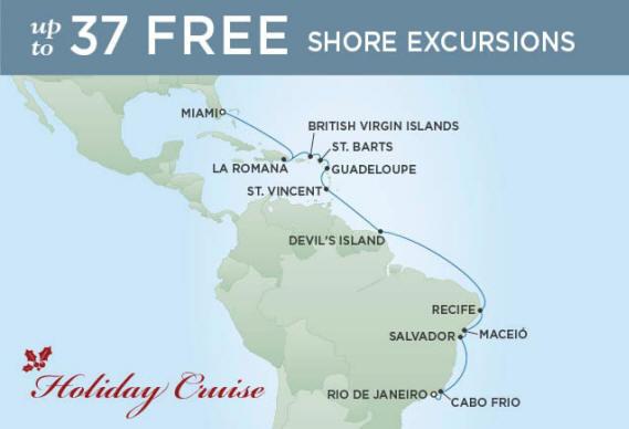 Rssc Regent Seven Seas Mariner December 20 2022 January 7 2023 throughout Sunset And Sunrise Calender 2022 2023