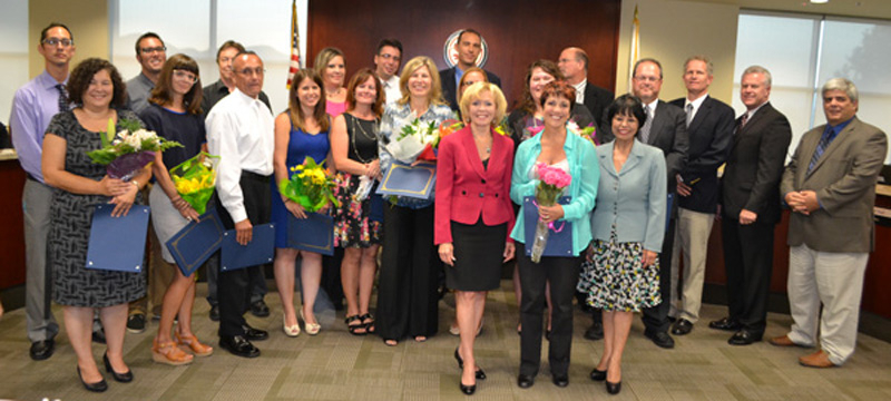 Scvnews | Hart District Recognizes Outstanding with Sunny Hills High School Academic Calendar 2010
