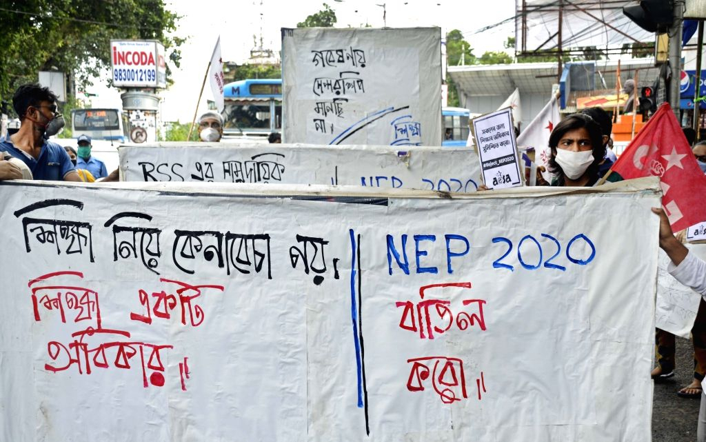 Sfi, Aisa Protest Against Nep 2020 within National Retail Federation 4 5 4 Calendar