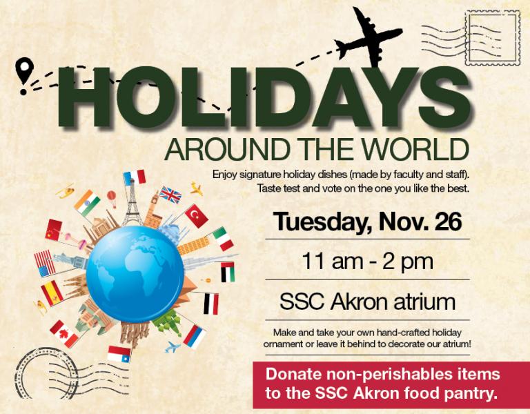 Ssc Akron | Holidays Around The World | Stark State within Univ Of Akron Holidays