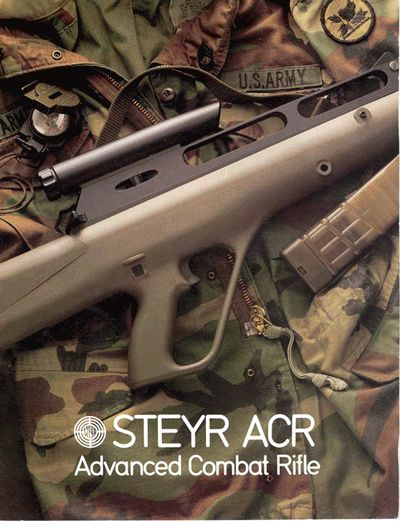Steyr Acr (Advanced Combat Rifle): Photos, History for Acrcaseinpoint