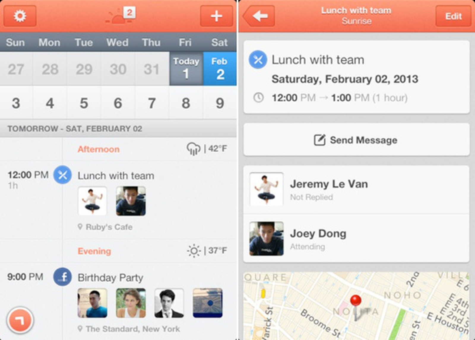 Sunrise Redesigns The Calendar Experience On Ios in Sunrise Sunset Times Add To Google Calendar