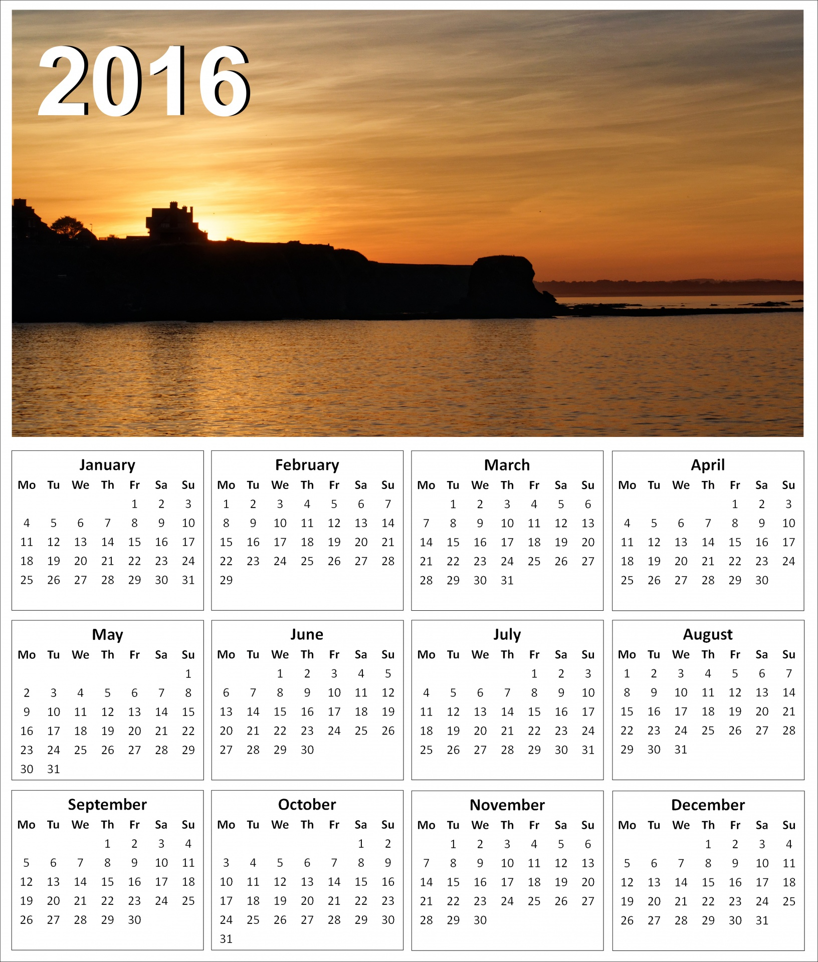 Sunset Calendar - Templates Free Printable within Printable Sunrise Sunset Chart