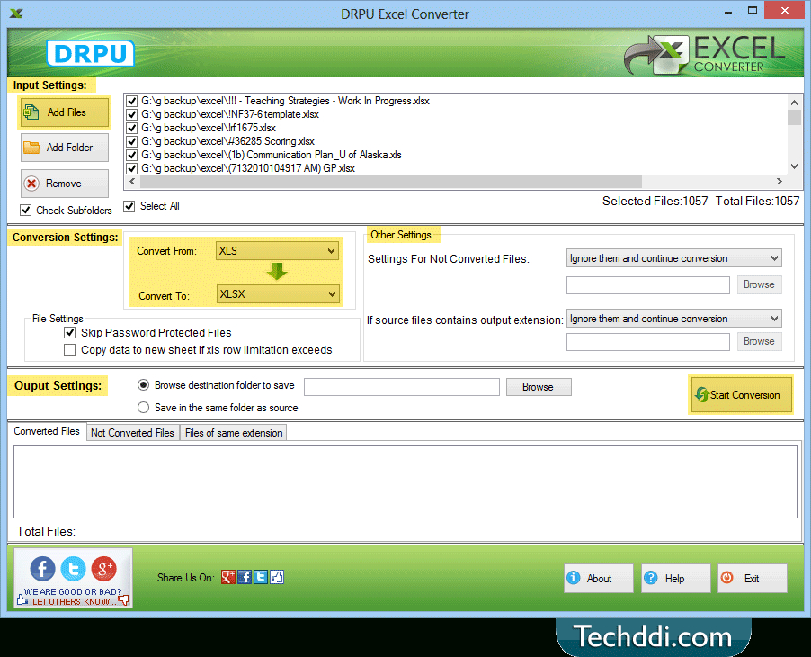Techddi Releases Excel Converter Software To Convert inside Progra To Convert Schedule To Excel