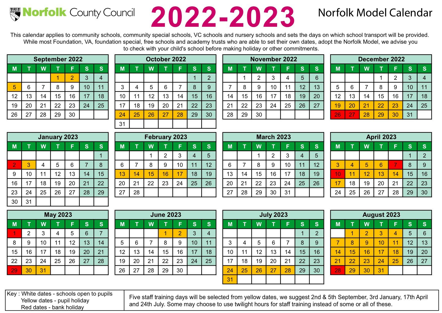 Term Dates   Suffield Park Infant & Nursery School intended for 2022 2023 School Calendar North Penn