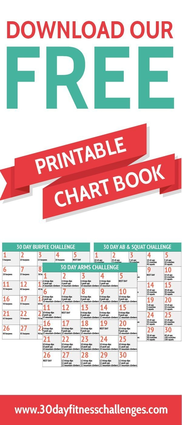 The Free Printable Squat Challenge Chart | Get Your pertaining to 30 Day Squat Challenge Calendar